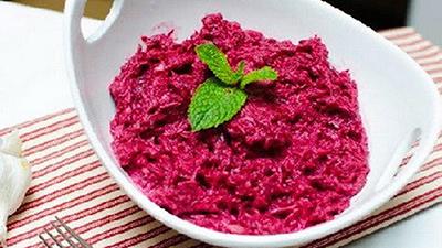 Свекольный салат рецепт