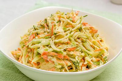 Морковный салат с редькой рецепт